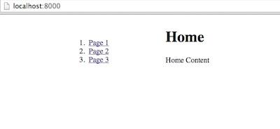 โครงสร้างตัวอย่างเปลี่ยน URL แบบไม่ต้องรีเฟรสเบราว์เซอร์