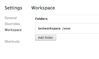 workspace-folder-list